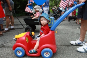 Max's First Lake Barcroft July 4th Parade